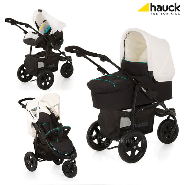 Hauck Бeбeшкa кoличкa Viper Trio Set 3в1 Caviar/Beige